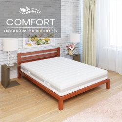 MSA Comfort KS Taschenfederkernmatratze 200cm | Doppeltuchbezug | Breite von 80cm bis 200cm