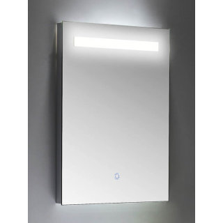 Badezimmer LED Spiegel 45x60 cm mit Touch Bedienung