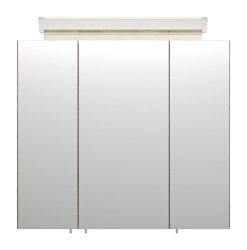 Spiegelschrank CALLEGOS 70cm 3-türig | mit LED-Leiste | sonoma-eiche
