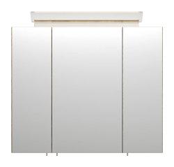 Spiegelschrank CALLEGOS 75cm 3-türig | mit...