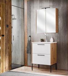 Badezimmer SET 2-tlg. MADERA 60cm | Waschplatz &...