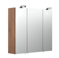Badezimmer Spiegelschrank 3-türig Salona 70cm | mit...