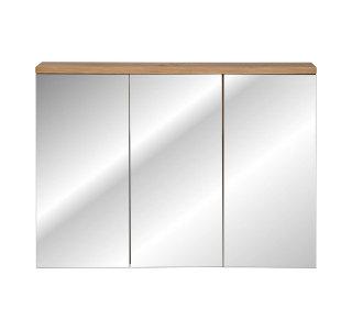 Badmöbel Bad Somoza | 90cm Spiegelschrank mit LED-Leuchte | artisan-eiche