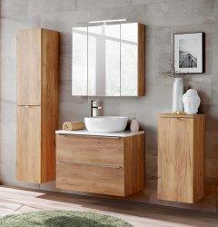Badezimmer SET III CAPRI 80cm 4-tlg.  | Aufsatz-Becken,...