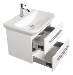 Waschplatz MyDay 65cm mit Geberit Waschbecken |...