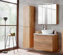 Badezimmer SET III CAPRI 80cm 3-tlg.  | Aufsatz-Becken,...
