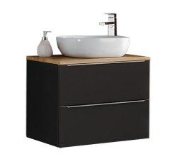 Badezimmer SET CAPRI 80cm 4-tlg.  | Waschtisch, Hoch...