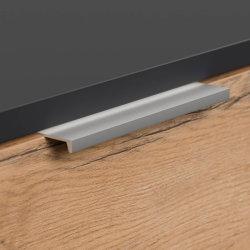 Schuhschrank FAVIER XL 105cm   mit 4 Klappen für 16 Paar Schuhe   grau-eiche