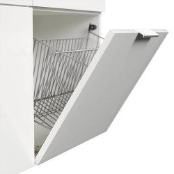 Garderoben-Set FAVIER L 3-teilig | Schuhschrank, Garderobe & Spiegel | weiß-hochglanz