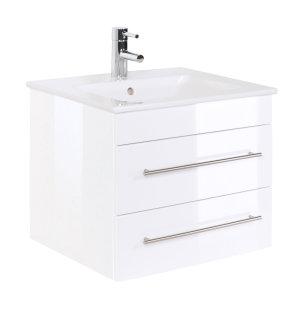 Waschplatz Villeroy & Boch Venticello 60 cm weiß hochglanz