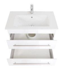 Waschplatz Villeroy & Boch Venticello 80cm weiß hochglanz
