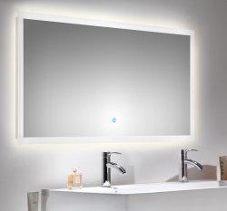 Badezimmer LED Spiegel 140x60 cm mit Touch Bedienung