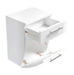 Badezimmer kompakter Unterschrank Salona | weiß